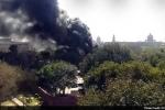 Cháy lớn tại tòa nhà Quốc hội Ấn Độ ở thủ đô New Delhi