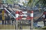 Sập cầu ở Sài Gòn trong đêm: Tạm giữ tài xế chở quá tải