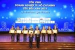 Hoa Binh vinh du lot Top 10 Doanh nghiep TP.HCM tieu bieu 2018 hinh anh 2