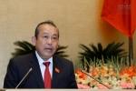 Trực tiếp: Phó Thủ tướng Trương Hòa Bình trả lời chất vấn trước Quốc hội