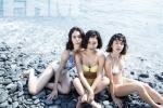 Vẻ ngoài nóng bỏng, xinh đẹp của 3 chị em mang trong mình 2 dòng máu Á - Âu