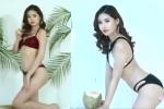 Video: Tân Hoa hậu Đại dương tạo dáng sexy với bikini trước khi can thiệp thẩm mỹ