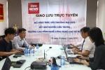 GIAO LƯU TRỰC TUYẾN: Mô hình thúc đẩy thương mại hóa kết quả nghiên cứu trong trường cao đẳng khối ngành kỹ thuật – công nghệ ở Việt Nam