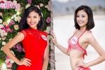 Vẻ gợi cảm của Đào Thị Hà - bản sao Tăng Thanh Hà tại Hoa hậu Việt Nam 2016