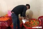 Bắt quả tang 4 cơ sở dùng hóa chất tẩy trắng 6,3 tấn củ cải ở Sài Gòn