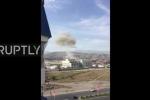 Clip xe bom liều chết lao vào đại sứ quán Trung Quốc ở Kyrgyzstan