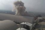 Nổ lớn như bom tại nhà máy xi măng ở Hà Nam