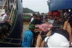 Chìm tàu, 13 người mất tích trên biển Cửa Lò: Tìm thấy 1 thi thể, cứu sống 7 thuyền viên
