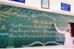 Ảnh: Nét chữ đẹp mê hồn của giáo viên tiểu học ở Bà Rịa - Vũng Tàu
