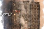 Video: Lính cứu hỏa căng mình dập 'biển lửa' khủng khiếp tại tháp 27 tầng London
