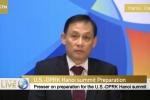 Video: Thứ trưởng Lê Hoài Trung phát biểu bằng cả tiếng Việt, tiếng Anh trong họp báo