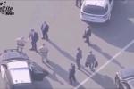 Cận cảnh đoàn xe chở Giám đốc FBI bị sa thải ra sân bay