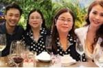 Cường Đô la về ra mắt gia đình Đàm Thu Trang