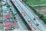 Video cảnh rùng rợn trên Vành đai 3: Hàng loạt lái xe bất chấp cái chết, nối đuôi chạy ngược chiều