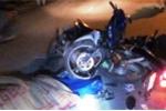 Hai xe máy tông nhau, 1 người chết trong đêm Noel
