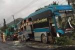 Xe khách húc nhau ở Bình Định, 14 người thương vong: 'Được giải cứu, tôi mới tin mình còn sống'