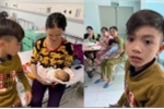 Clip: Xúc động bé trai 13 tuổi đạp xe từ Sơn La xuống Hà Nội thăm em ốm