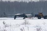 Những hình ảnh đầu tiên UAV tàng hình 'thợ săn bí mật' của Nga bị rò rỉ