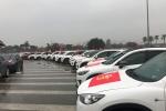 Hơn 60 xe sang xếp hàng cổ động cho tuyển U23 Việt Nam