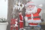 Ngắm tuyết rơi trên đỉnh Bà Nà dịp Giáng sinh