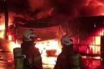 Hiện trường vụ cháy, 6 công nhân Việt chết ở Đài Loan