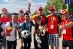 Nguoi dep mang co do sao vang den Nga: Mo thay tuyen Viet Nam du World Cup hinh anh 2