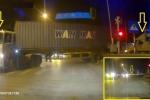 Truy tìm xe container cố tình đâm bay rào chắn, vượt đường ray tàu hỏa ở Hà Nội