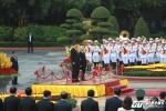 Ảnh: Long trọng lễ đón Chủ tịch Trung Quốc Tập Cận Bình tại Phủ Chủ tịch