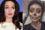 Phẫu thuật để giống Angelina Jolie, cô gái hóa 'xác sống'