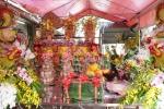 Video: Cận cảnh mâm lễ 'khủng' nhất đền Trần với cặp 'Long giáng ngậm ngọc'
