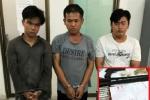 Khởi tố 3 kẻ buôn bán ma túy, tàng trữ vũ khí ở TP.HCM