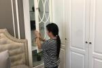 Dọn phòng ngủ, giúp việc lấy luôn tài sản của gia chủ: Nghi phạm thực nghiệm hiện trường