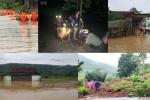 Toàn cảnh mưa lũ càn quét sau bão số 4 tại Bắc Bộ và Bắc Trung Bộ