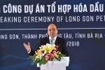 Thủ tướng dự lễ khởi công dự án trọng điểm Tổ hợp hóa dầu Miền Nam