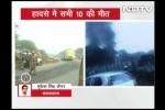 Clip: Máy bay rơi ở Ấn Độ