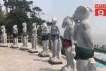 Video: Tượng 12 con giáp khỏa thân ở Hải Phòng được mặc quần