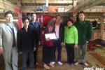 Gia đình cụ bà có chiếc lưỡi lớn nhất Việt Nam cảm ơn độc giả VTC News