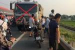 Xe tải đi ngược chiều cố tình lấn làn, đâm chết 2 người: Nạn nhân đang trở lại Hà Nội sau dịp lễ