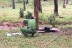 Thi thể nam giới cháy đen trong lô cao su ở Đồng Nai