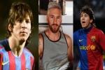 Messi: Từ tóc dài lãng tử đến nhuộm bạch kim sành điệu