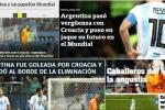 Báo chí Argentina: Thua Croatia là mối nhục lịch sử, Messi chơi bóng như cầu thủ hạng 2