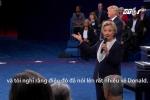Clip Trump và Clinton thử nói những điều tốt đẹp về nhau