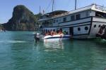 Tham quan vịnh Hạ Long, du khách người Úc rơi xuống biển mất tích