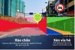 Đường Kim Mã thu hẹp còn 3m, cấm ô tô để thi công metro Hà Nội