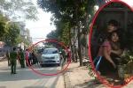 Ảnh: Hiện trường nam thanh niên dùng súng khống chế người phụ nữ ở Hà Nội