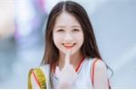 Nữ sinh răng khểnh ở Nam Định xinh hút hồn với nụ cười toả nắng