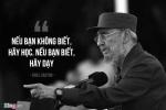 Di sản giáo dục miễn phí của lãnh tụ huyền thoại Fidel Castro