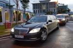 Video, Ảnh: Dàn xe của Tổng thống Nga Putin vừa đến Đà Nẵng sáng 10/11