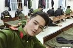 Nam canh sat co dong Dak Lak duoc vi la ban sao hot boy Huynh Anh hinh anh 1
