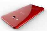 Concept HTC U 11 màu đỏ hồng quyến rũ